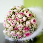 bloemen, bruidswerk, bruidsboeket, trouwboeket